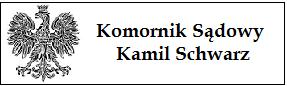 Komornik Sądowy przy Sądzie Rejonowym w Bytomiu Kamil Schwarz
